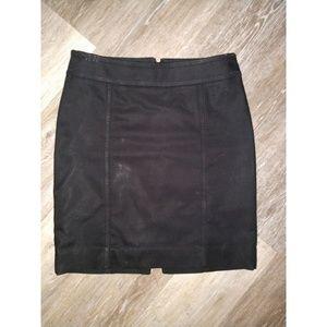 Black mini skirt size 0